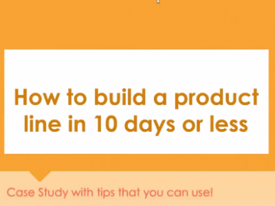 Case Study: How to Build a Line in 10 Days or Less